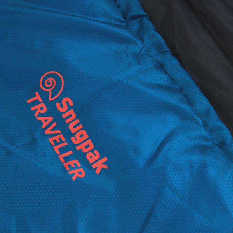 Cận cảnh chất liệu vải ngoài của túi ngủ chống muỗi Snugpak Traveller Extreme 2