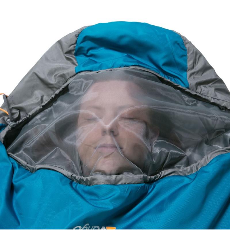 Thiết kế túi ngủ chống muỗi với lớp lưới bao phủ bên ngoài