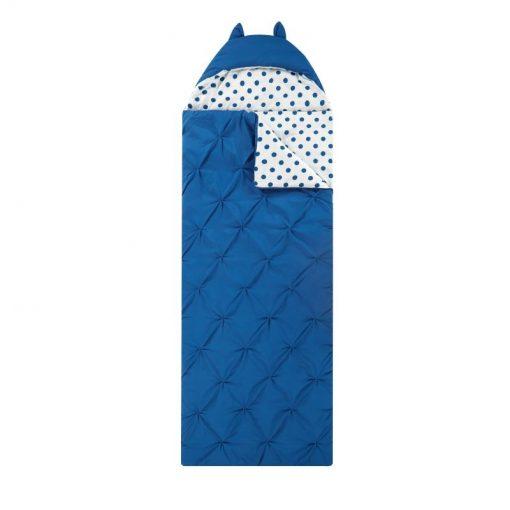 Túi ngủ hình thú Nicki Home màu xanh dương