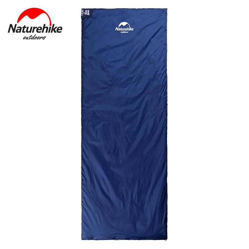 Thiết kế túi ngủ Naturehike LW180 với hình chữ nhật đơn giản