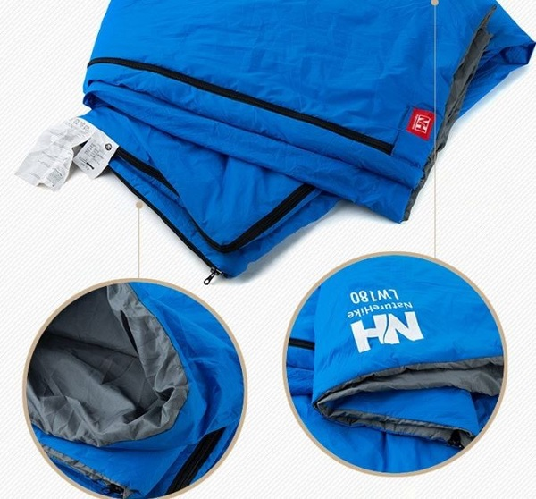 Túi ngủ Natrurehike LW180 với khả năng dễ dàng gấp gọn