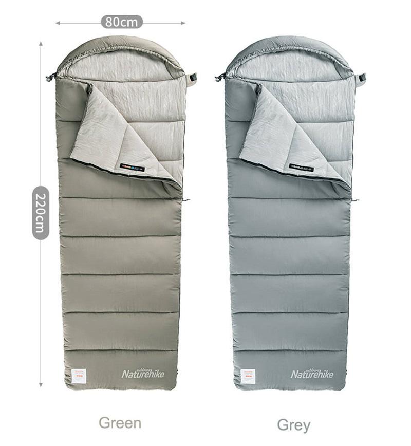 Kích thước và trọng lượng của túi ngủ siêu nhẹ M180 NH20MSD02