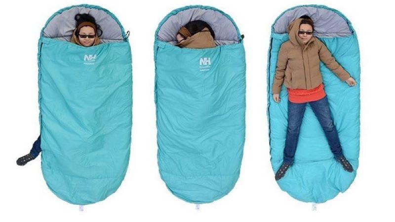 Túi ngủ Pad 300s sử dụng linh hoạt ở văn phòng, tại nhà