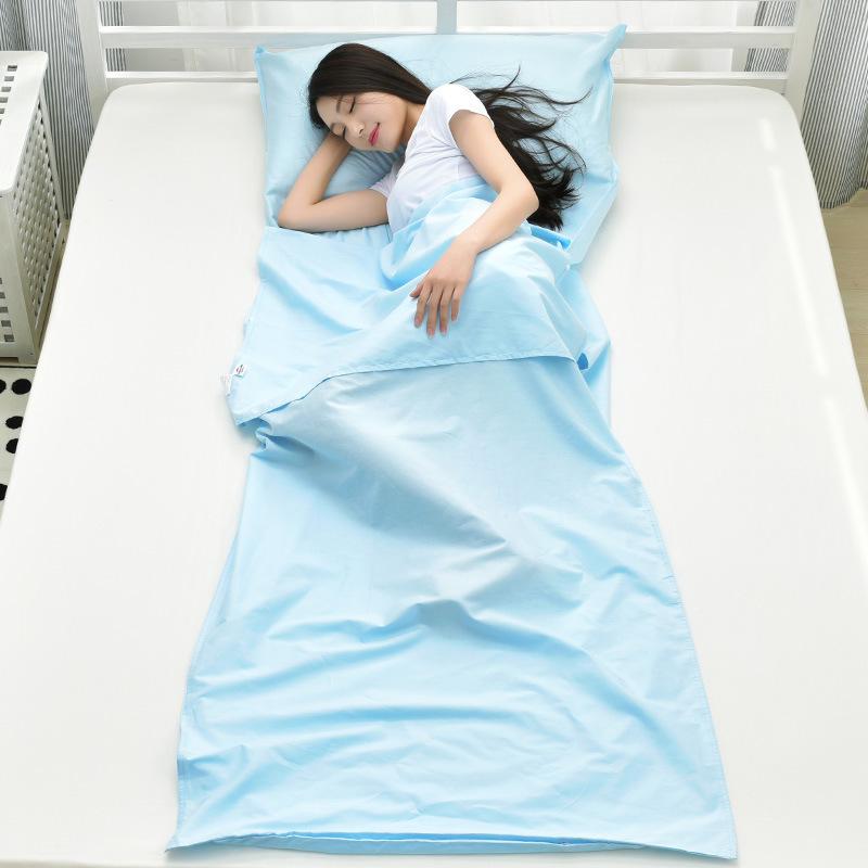 Túi ngủ trưa văn phòng NH18S010D01 thiết kế hình chữ nhật đơn giản