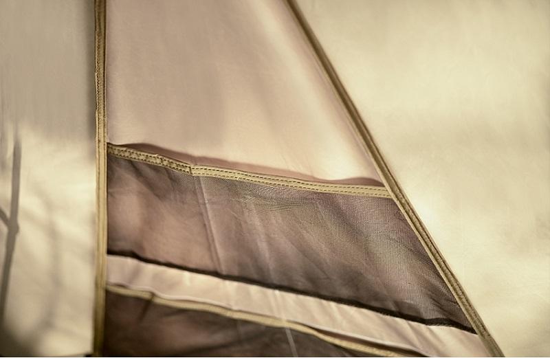 Túi lưới của Lều 2 lớp du lịch Kazmi K20T3T006