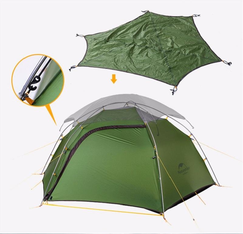 Lều 2 người (lều đôi) Naturehike NH17K240-Y