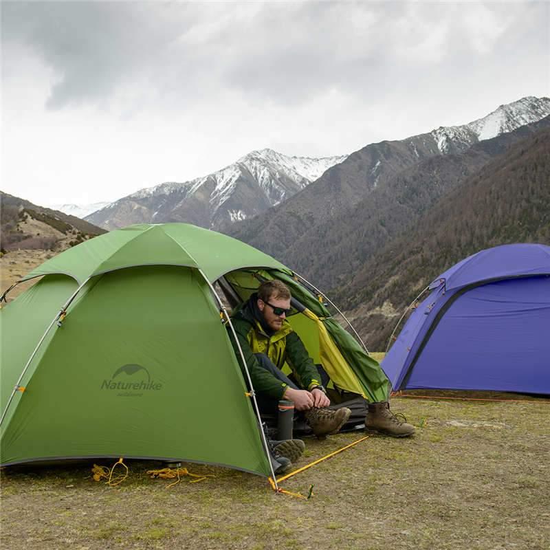 Sử dụng Lều 2 người (lều đôi) Naturehike NH17K240-Y