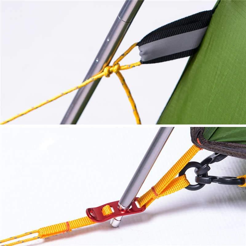 Chất liệu khung nhôm chống hoen gỉ của Lều 2 người (lều đôi) Naturehike NH17K240-Y