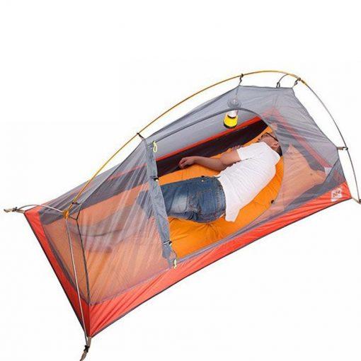 Cận cảnh thiết kế của Lều cá nhân (Lều 1 người) đi cắm trại Naturehike NH18A095