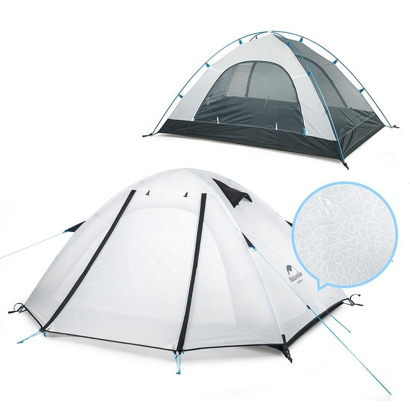 Lều cắm trại chống mưa, nắng UPF 50+ Naturehike NH18Z033-P màu trắng