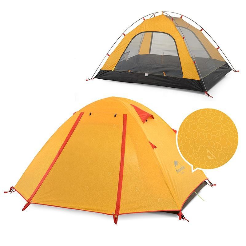 Lều cắm trại chống mưa, nắng UPF 50+ Naturehike NH18Z033-P màu cam