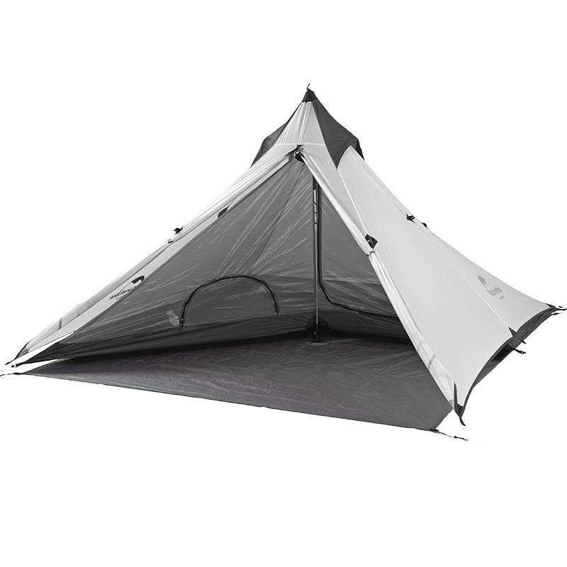 Lều cắm trại mini siêu nhẹ Naturehike NH17T030-L màu trắng