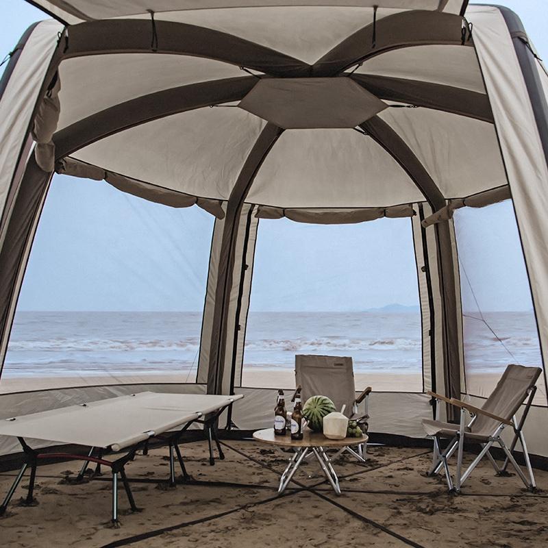 Cận cảnh thiết kế bên trong của Lều đi biển bơm hơi Naturehike NH20TM002