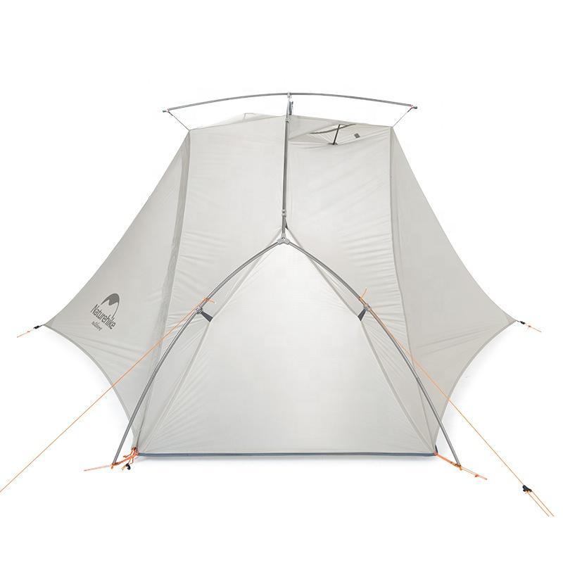 Cận cảnh chất liệu của Lều đi phượt Naturehike NH18W001-K 1 người