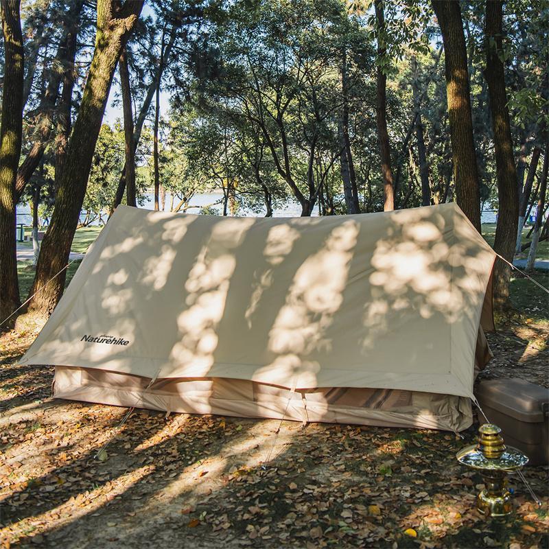 Cận cảnh chất liệu của Lều du mục Naturehike Glamping Tower 5.6