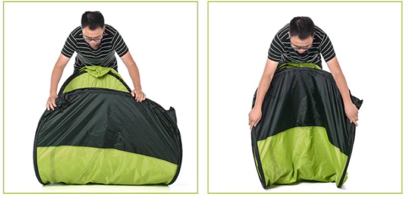 Cách dựng Lều thay đồ, tắm rửa, đi vệ sinh cắm trại Naturehike NH17Z002
