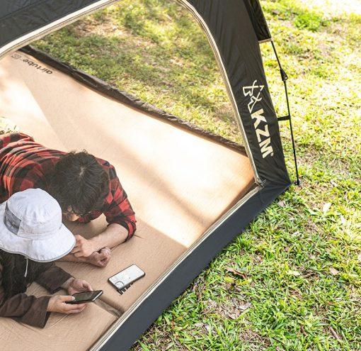 Thiết kế cửa thông thoáng của Lều tự bung 4 người Kazmi K20T3T002