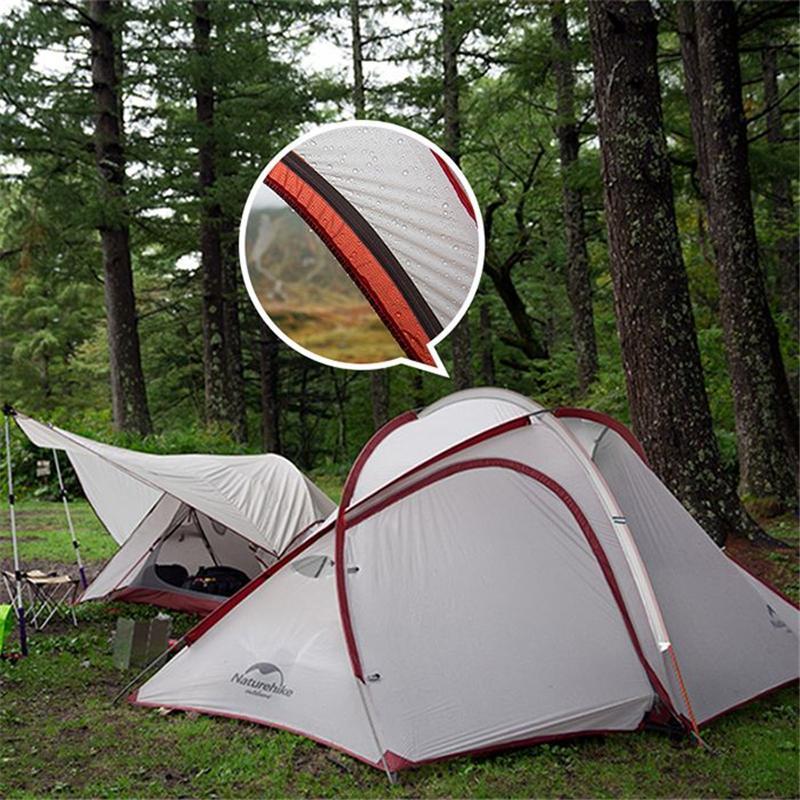 Lều dã ngoại gia đình 4 người Naturehike NH19ZP005