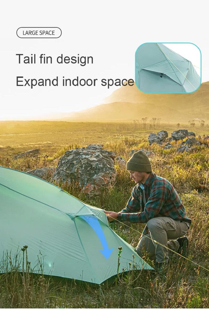 Lều du lịch cắm trại Naturehike NH20ZP091 2 người