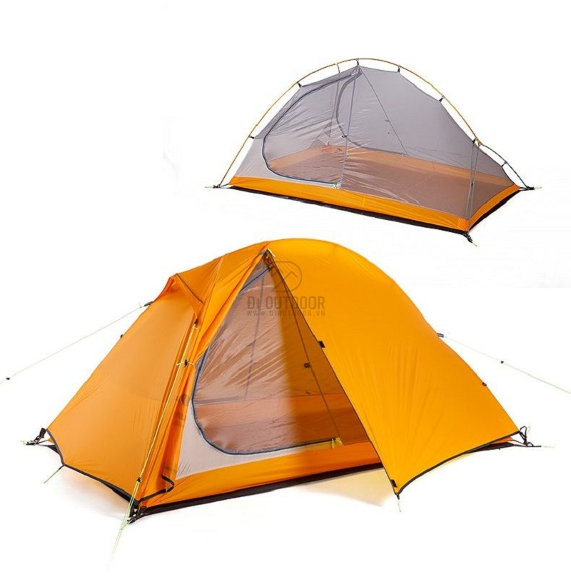 Thiết kế của Lều ngủ dã ngoại 2 người Naturehike NH18A180-D