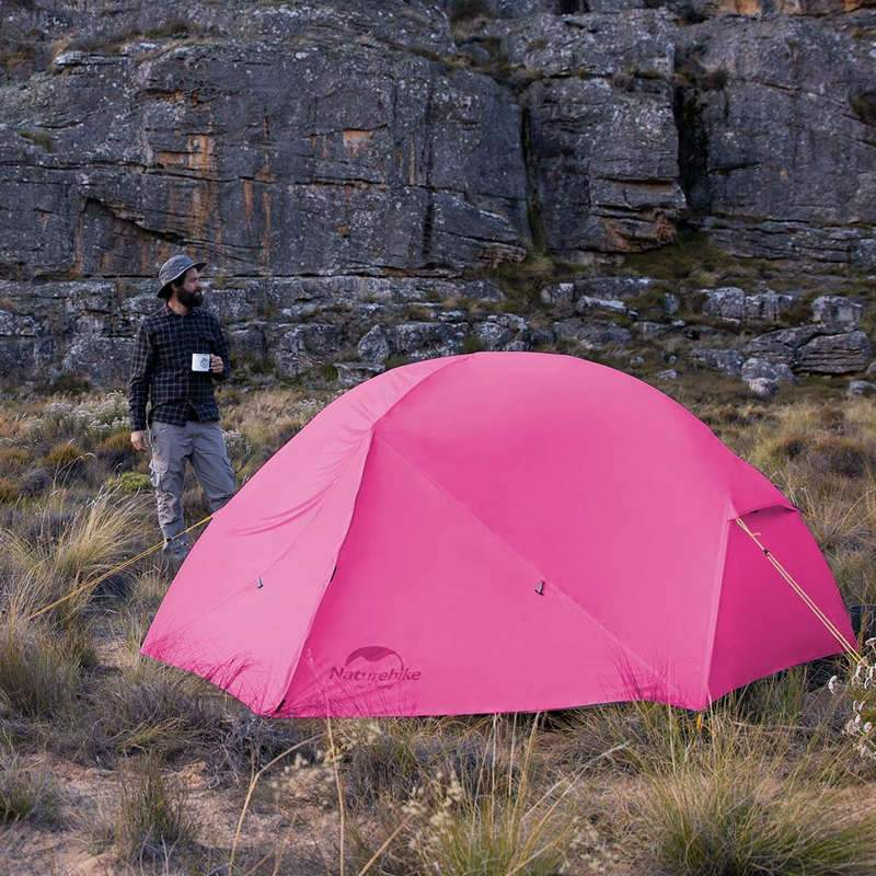 Chất liệu của Lều ngủ ngoài trời chống muỗi Naturehike NH19M002-J 2-3 người