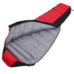Túi ngủ hình kén lông vũ Roticamp Extreme R006